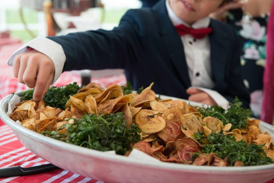 Nos chips de légumes