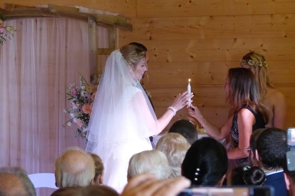Cérémonie Mariage d'Amour