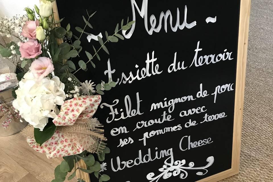 Déco menu