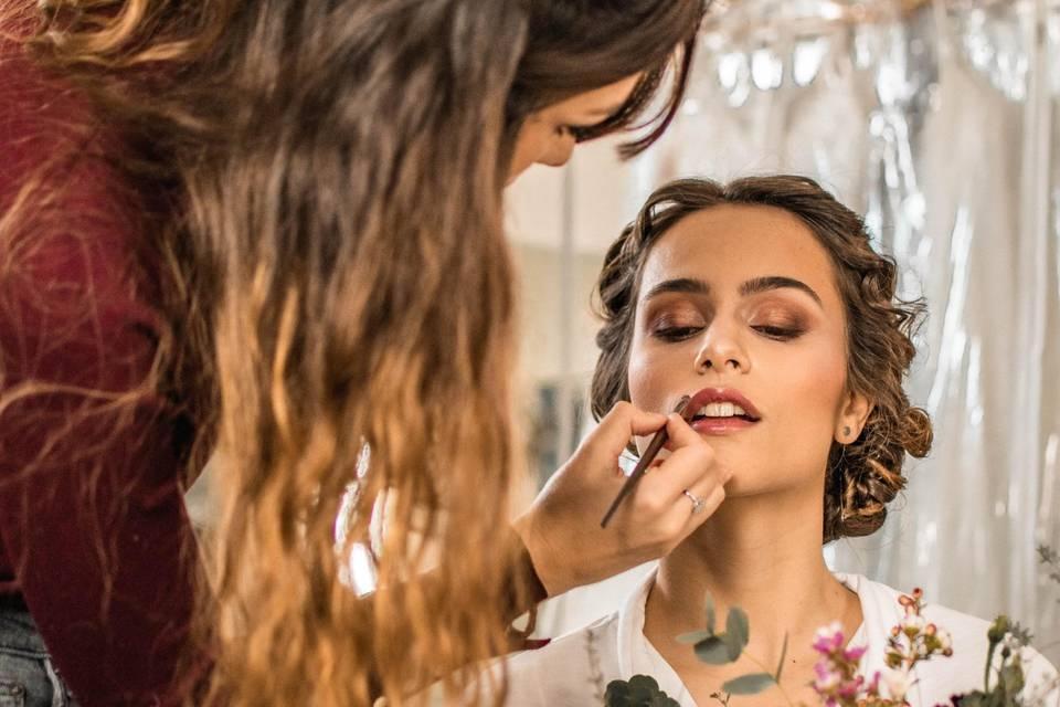 Make up de la belle Flo