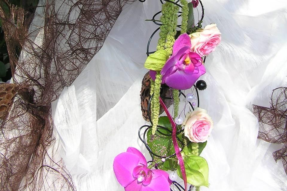 Bouquet tombant