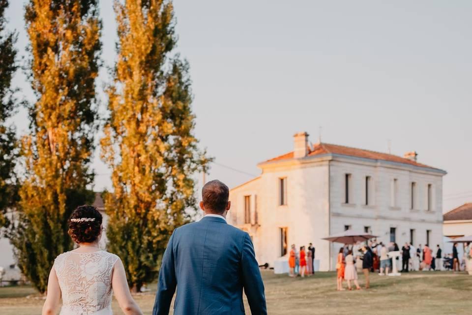 Maison de Jean et son parc
