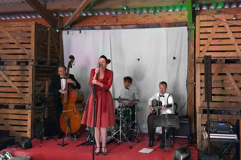 Lily Butterfly Quatuor Jazz