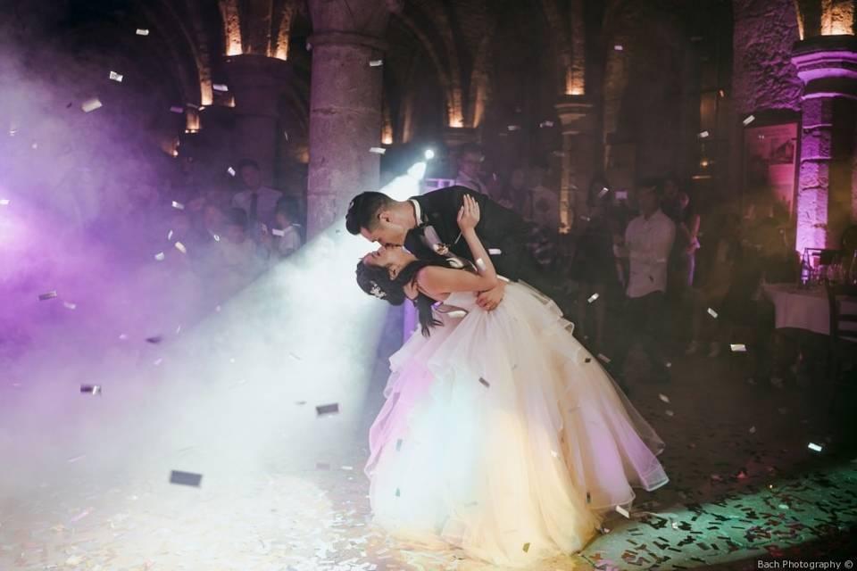 Mariage chinois - abbaye des v