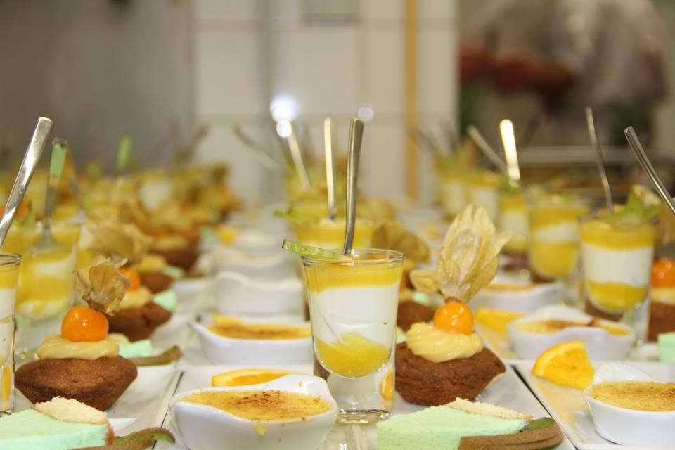Déclinaison de desserts