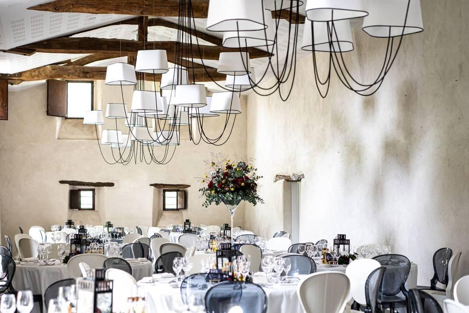 La salle du repas