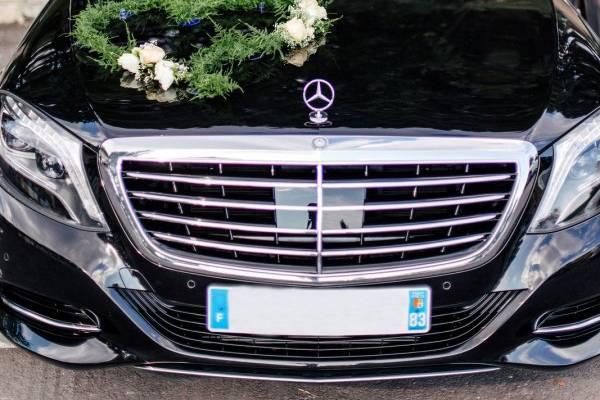 Mercedes-Benz Classe S décorée