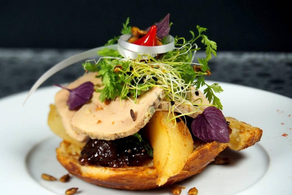 Gourmandise de foie gras