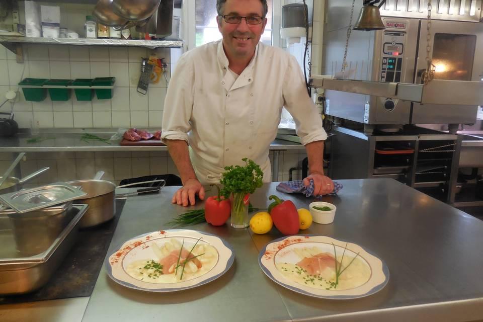 Roland Parals - Artisan cuisinier à domicile