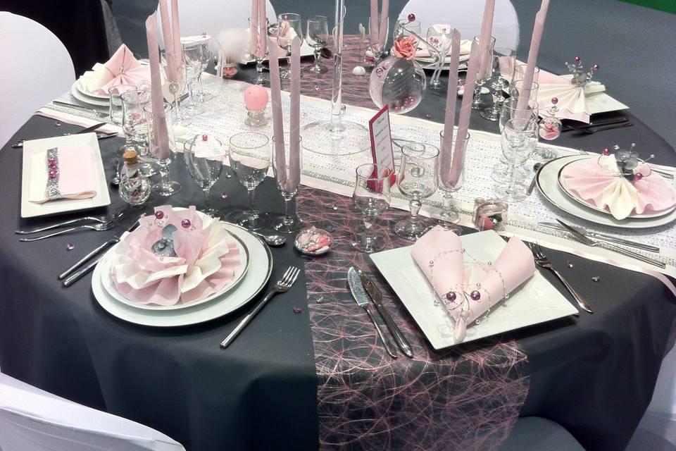 Décor de table (Showroom mag)
