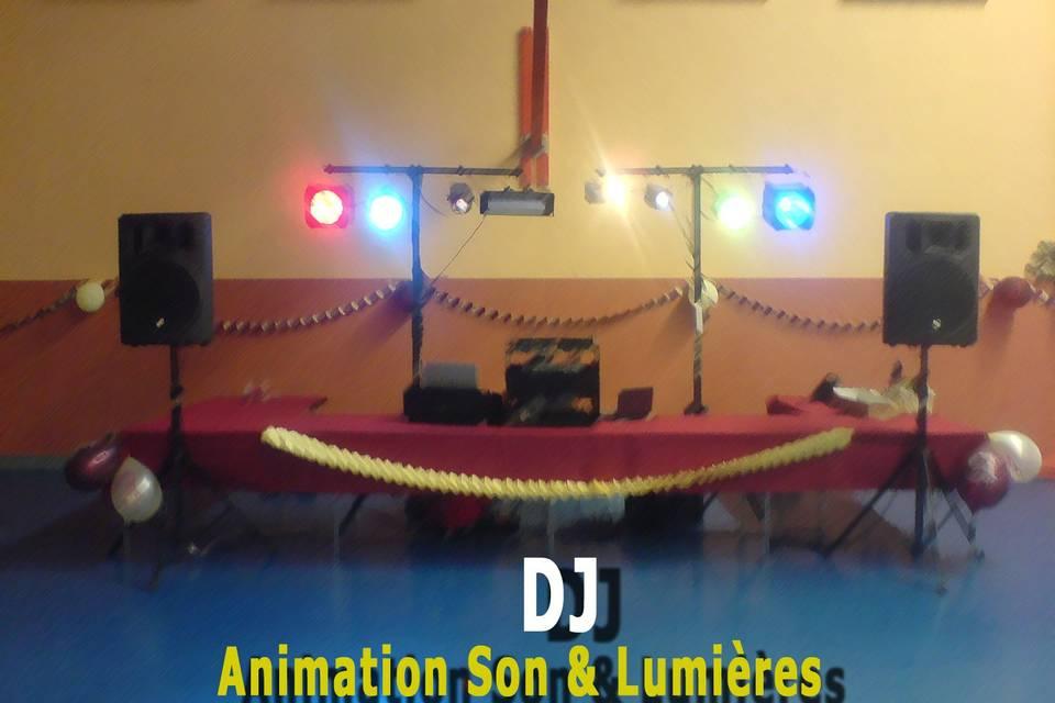 DJ installation