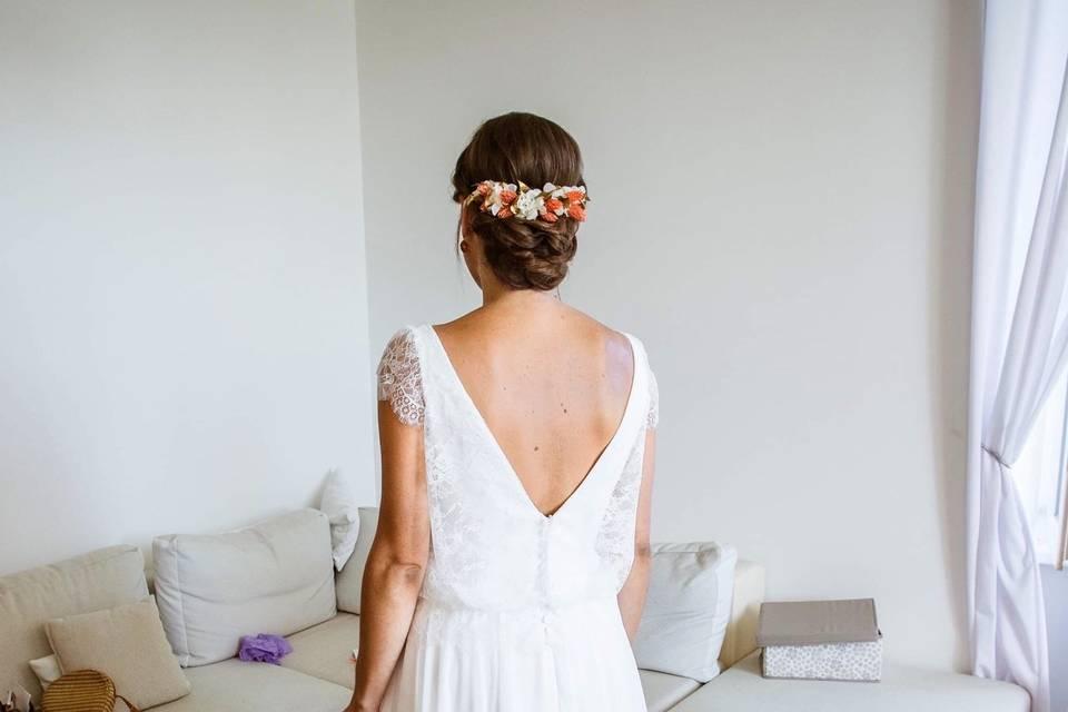 Mariée préparatifs