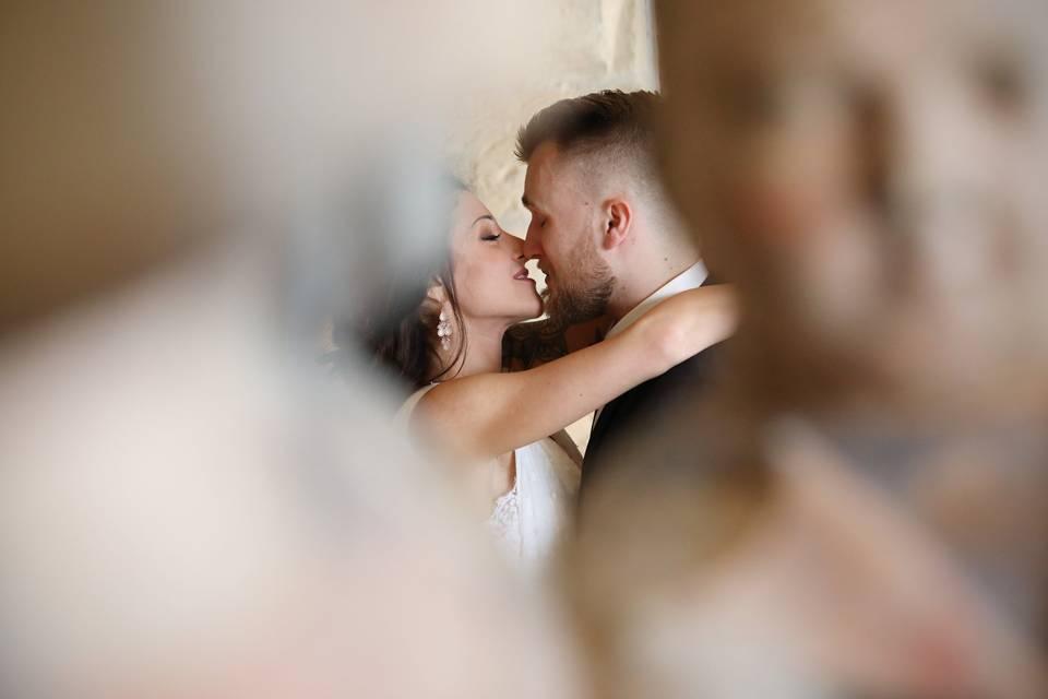 Portrait romantique de couple