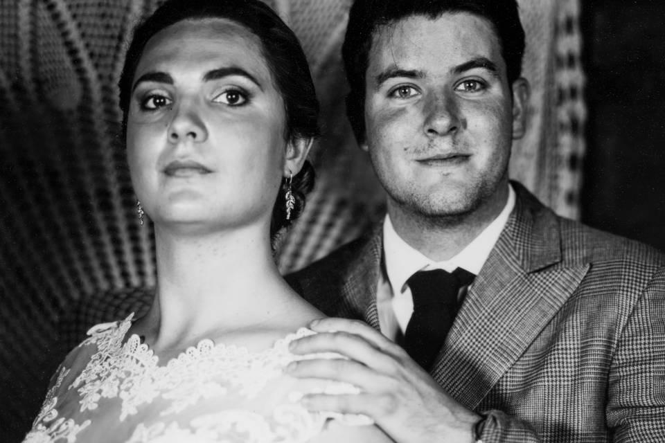 Portrait mariés Alexia & David