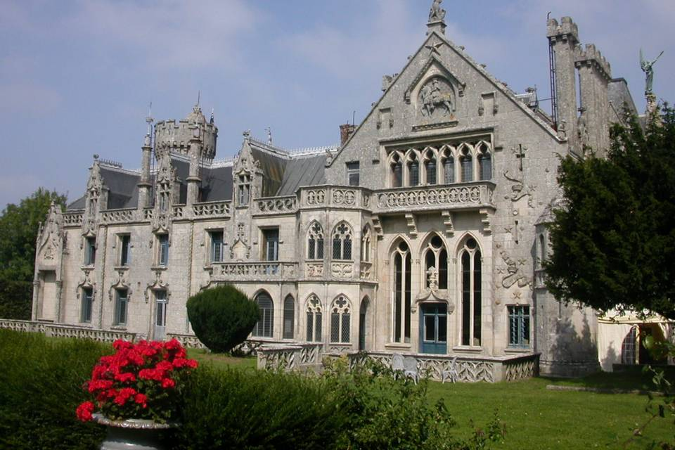 Château de Keriolet façade sud