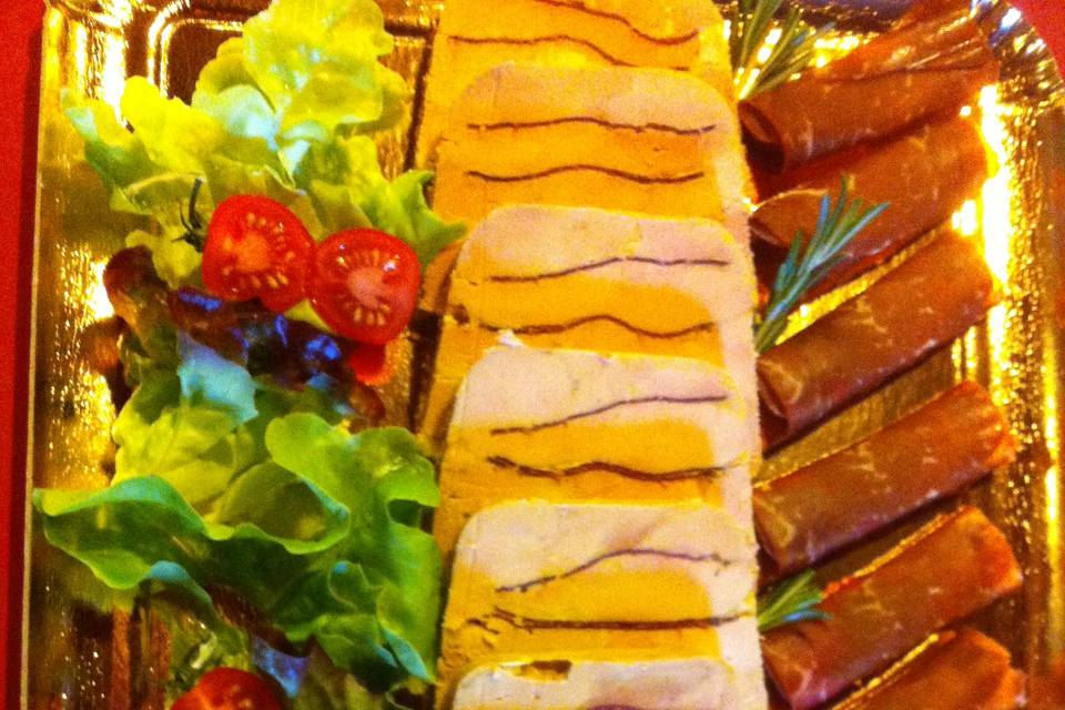 Foie gras à la viande des gris