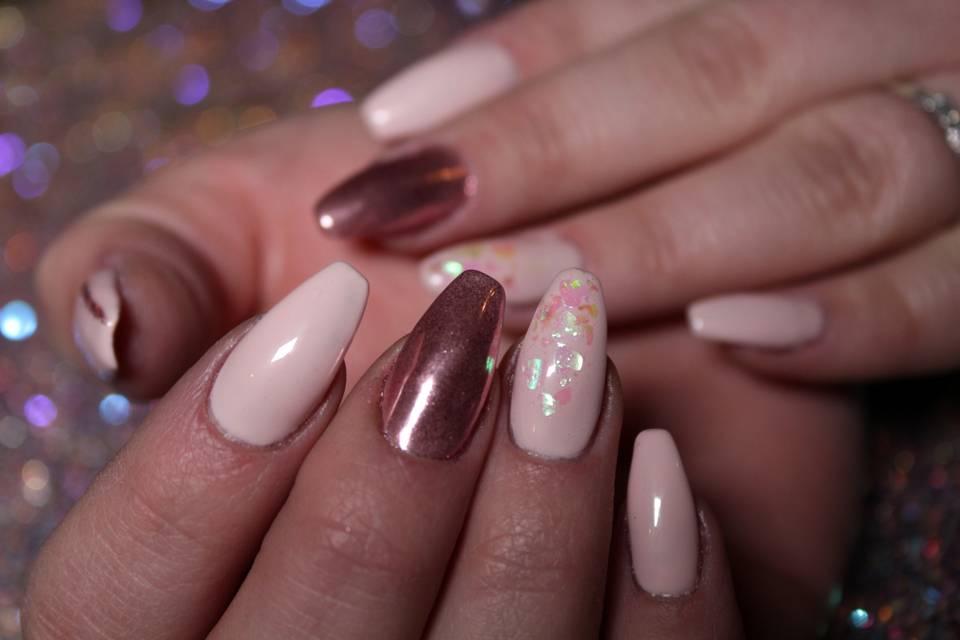 Extension gel et nail art