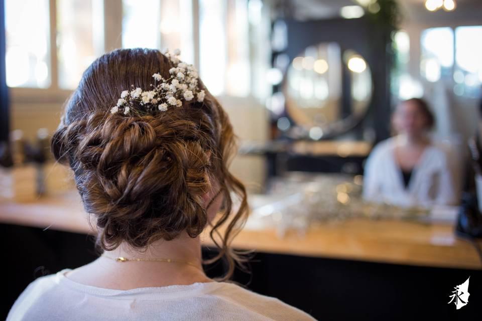 Preparatif mariage photographe