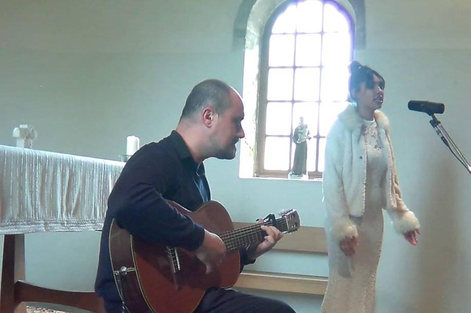 Anthéa duo acoustique église