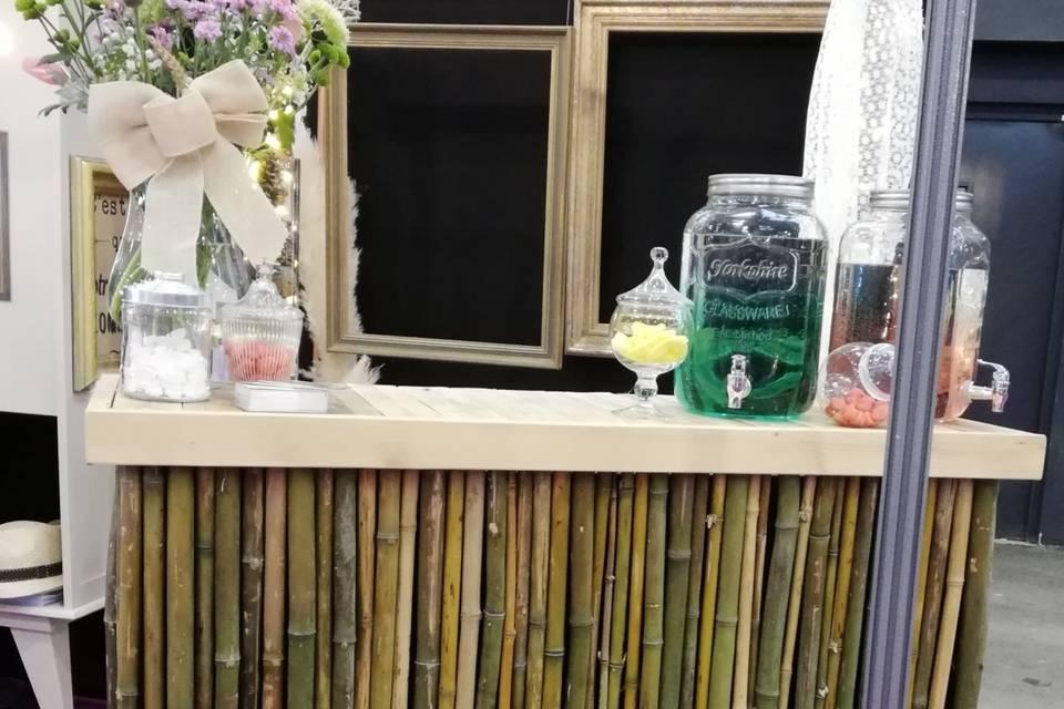 Bar à limonade tropical