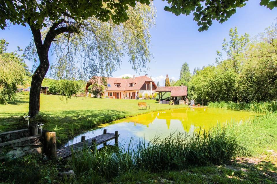 L'étang de la Tourne