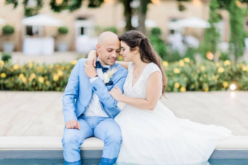 Les mariés D & R par Pascal VO