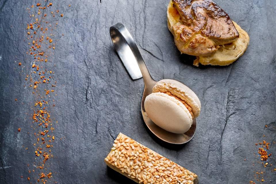 Déclinaison foie gras