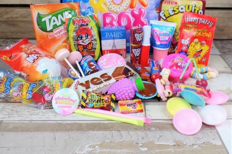 Box bonbons enfance