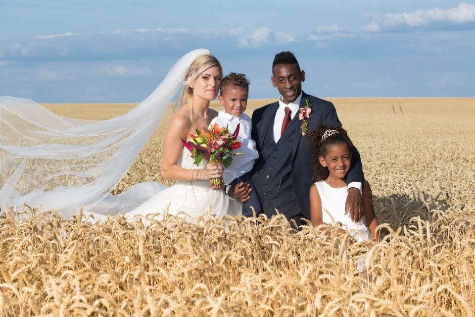 Couple mariés/famille