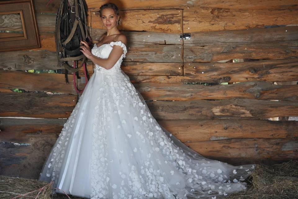 Une robe florale