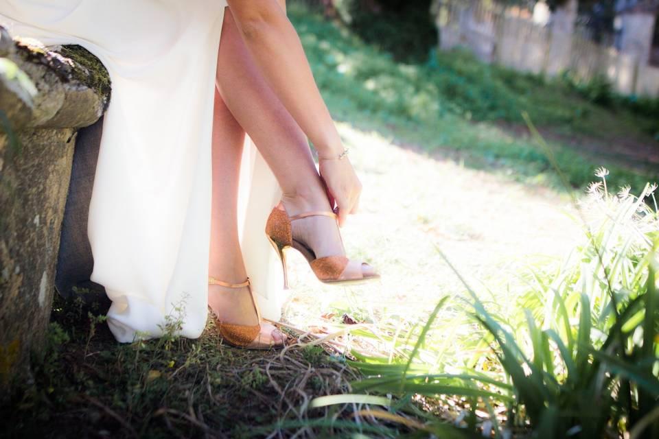 Céline Bussy chaussure de danse et de mariage