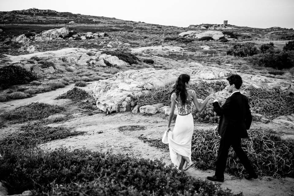 Couple le Rocher Lumio