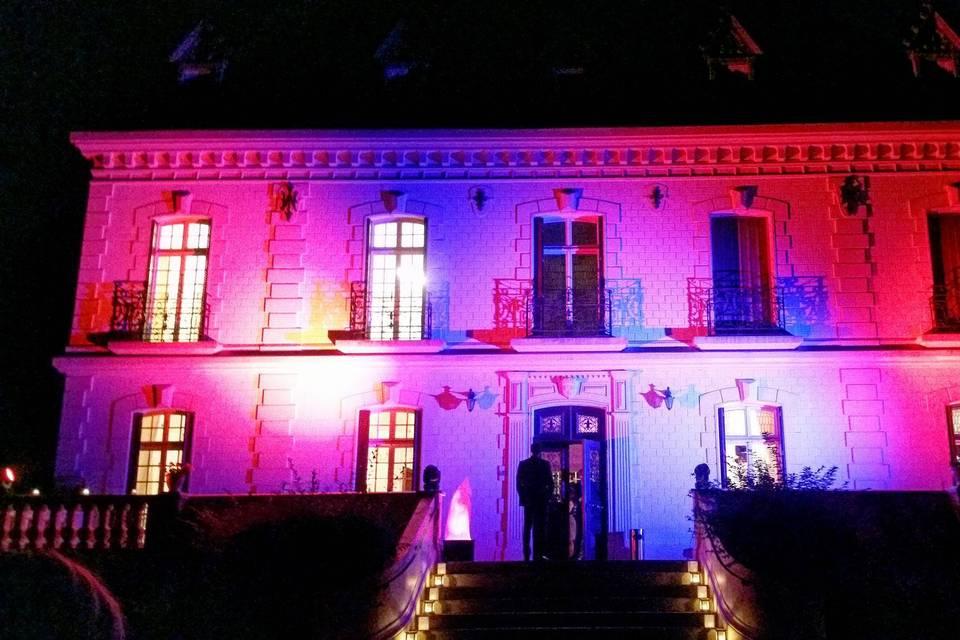 Eclairage château
