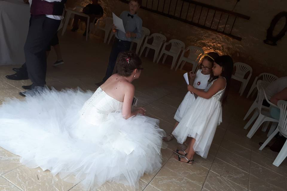 Les minis wedding reporters