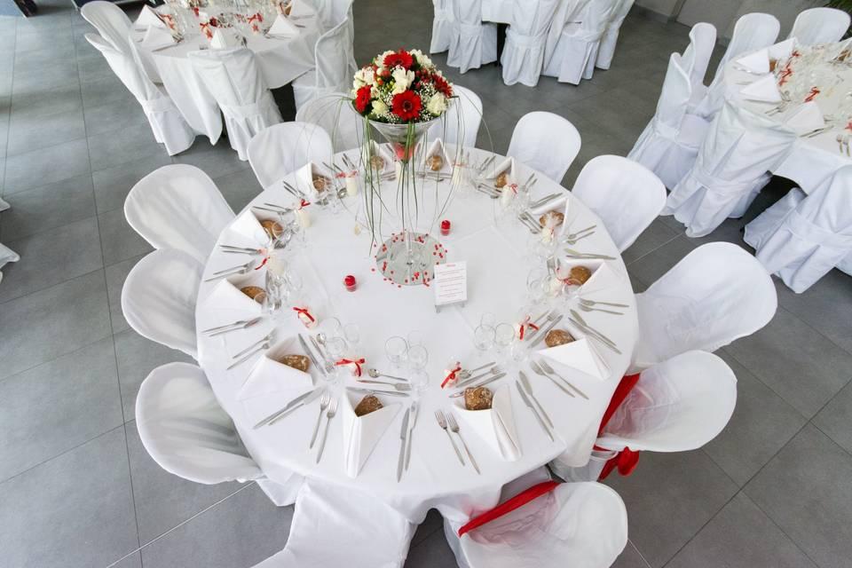 Décor table