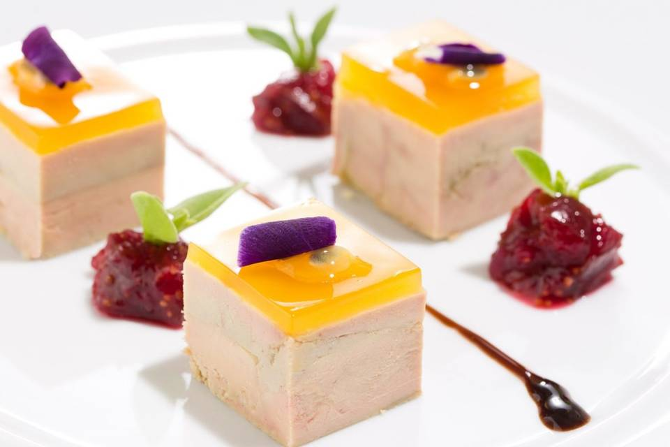 Foie gras maison & agrumes