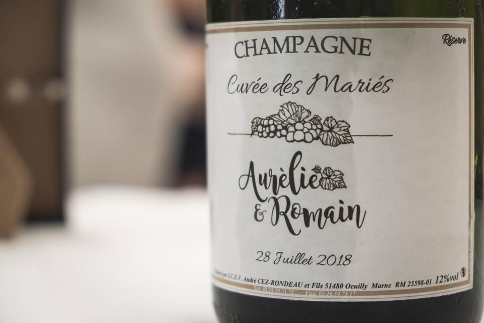 Champagne André Cez Rondeau et Fils