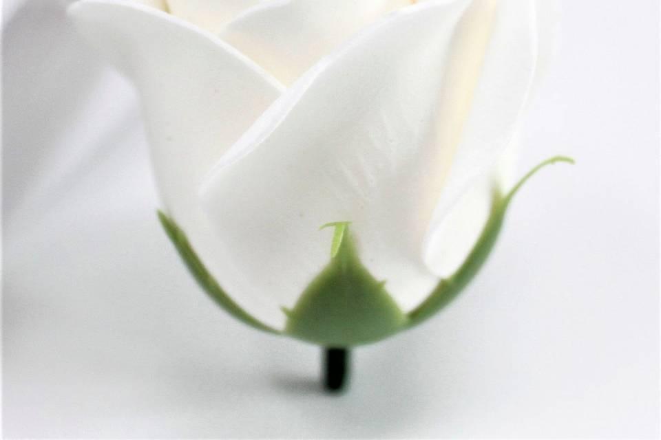 Rose en savon