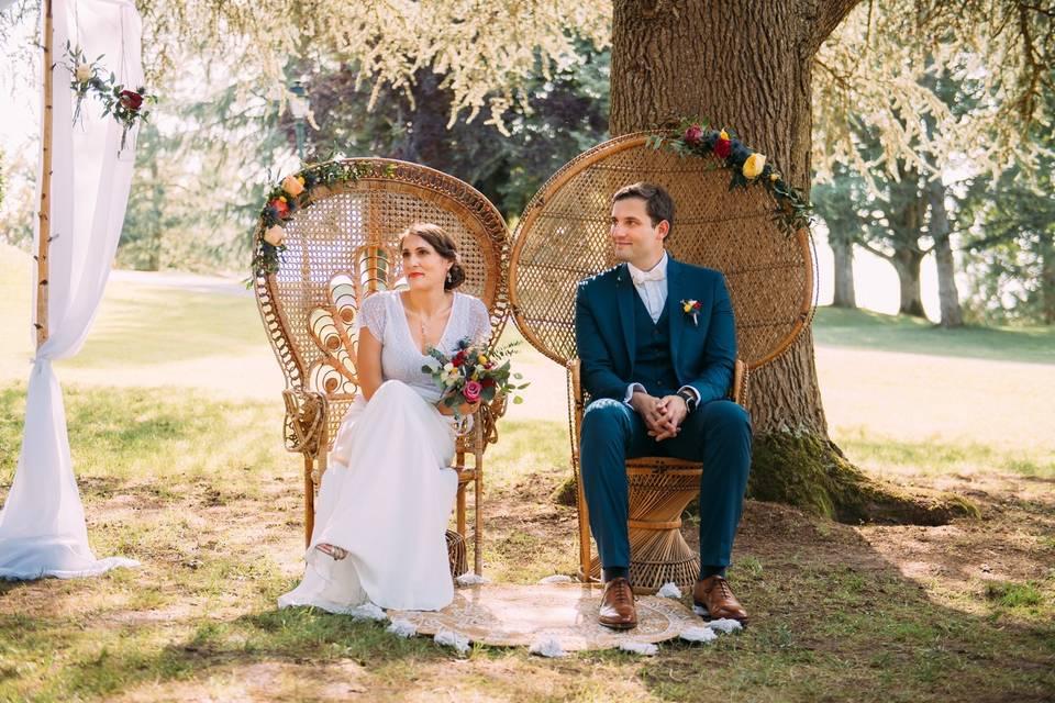 Mon joli couple de mariés