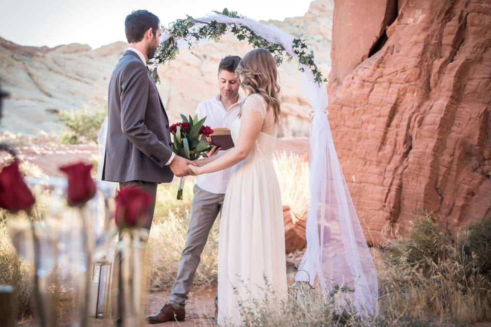 Mariage Valley of Fire
