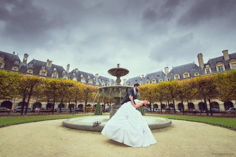 Jenny et Cédric Paris