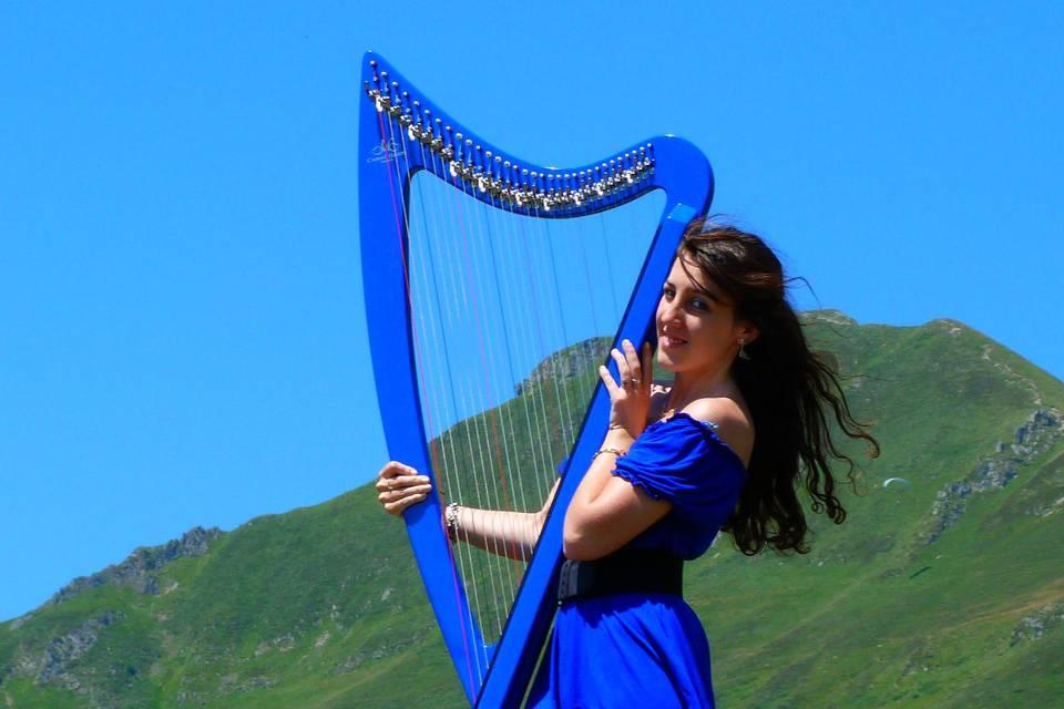 Marion Le Solliec - Celtic et Electric Harp
