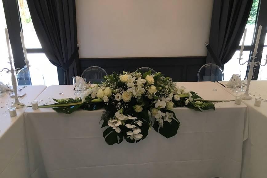 Centre de table d'honneur