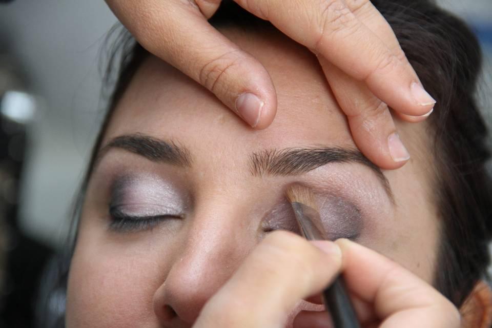 Maquillage Laetitia