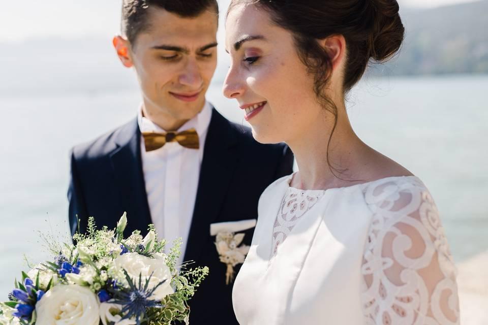 Mariage au lac d'Annecy