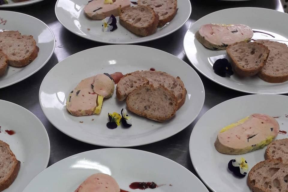 Lobe foie gras truffé