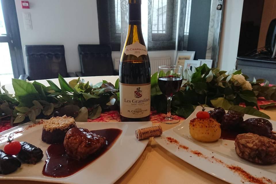 Alliance mets et vins