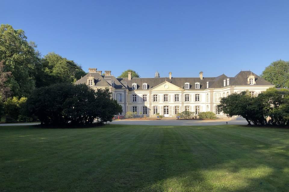 Vue de l'avant du Château