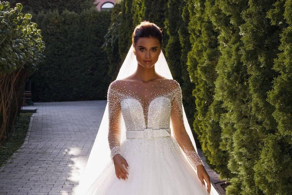 Robe de mariée princesse 1