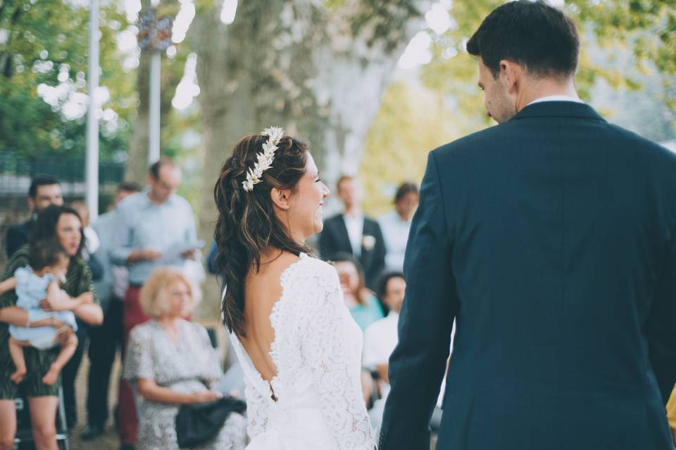 Mariés et bonheur